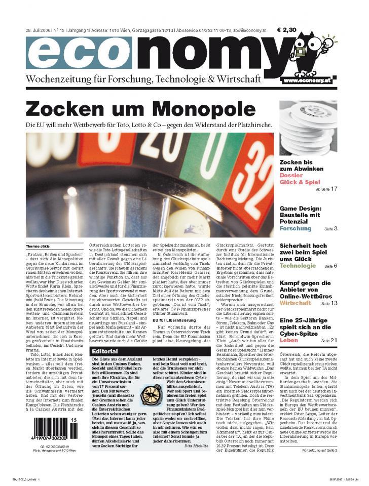 Heft Archiv 2006 - Seite 15