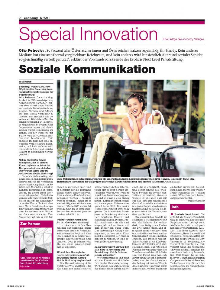 Special Innovation