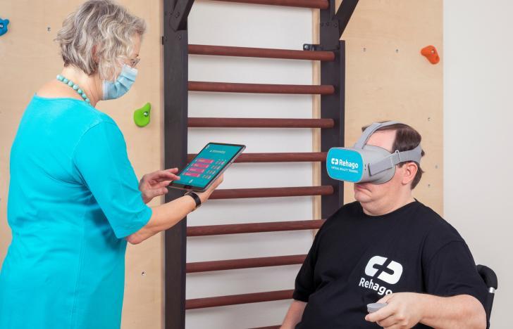 Virtuelle Gamification als neue Therapieform bei Schlaganfällen
